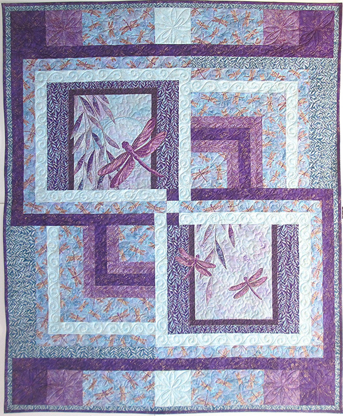 Dragonfly Delight Quilt Kit 56 x 68