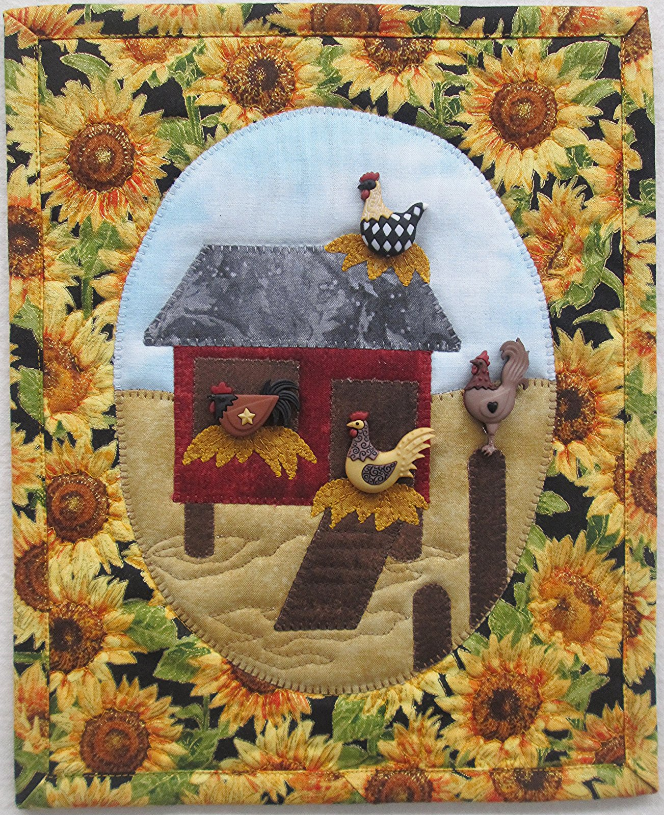 Hen House Duty Wall Hanging Kit 9 x 11