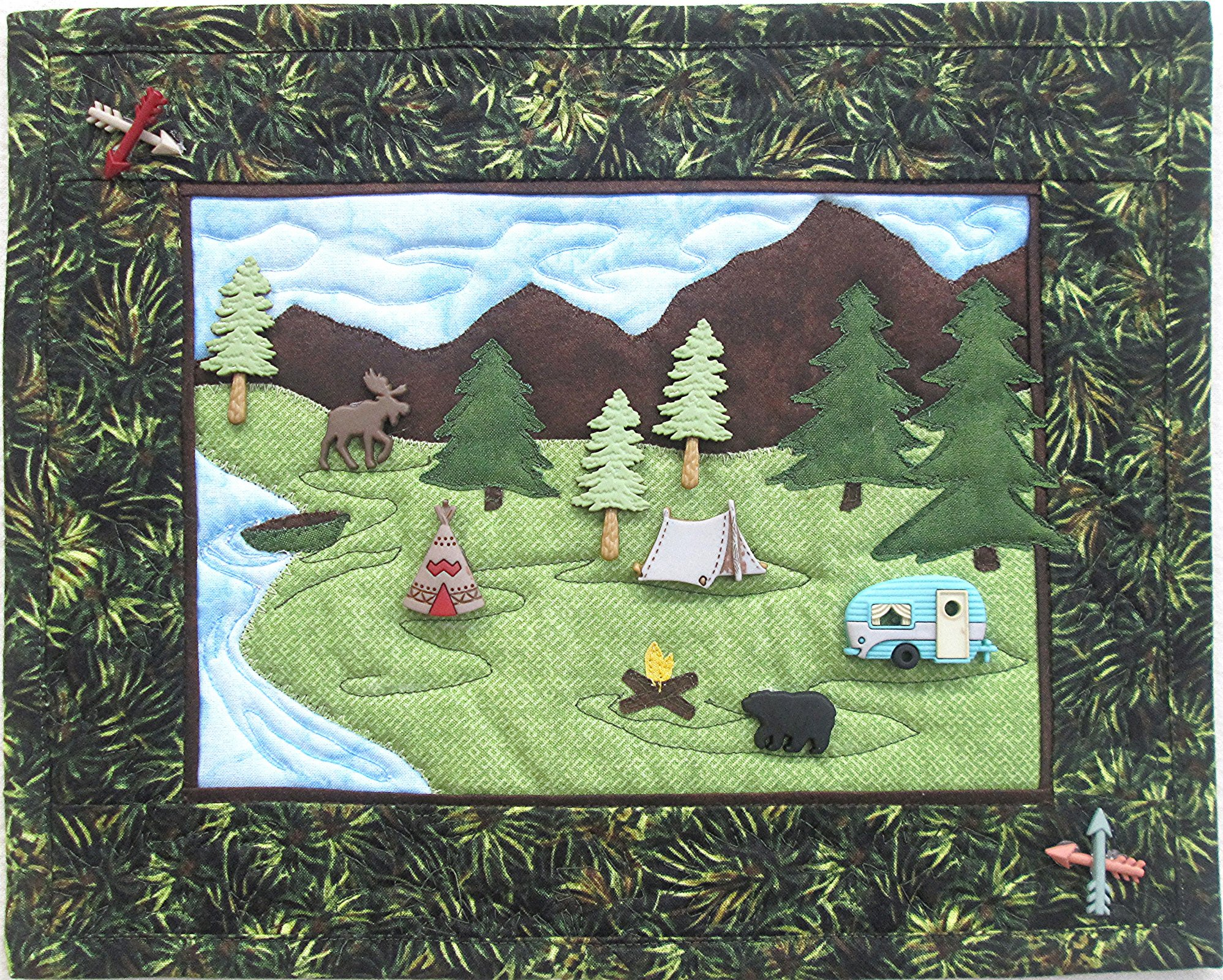 Montana Getaway 2 Wall Hanging Kit 12 1/2 x 10