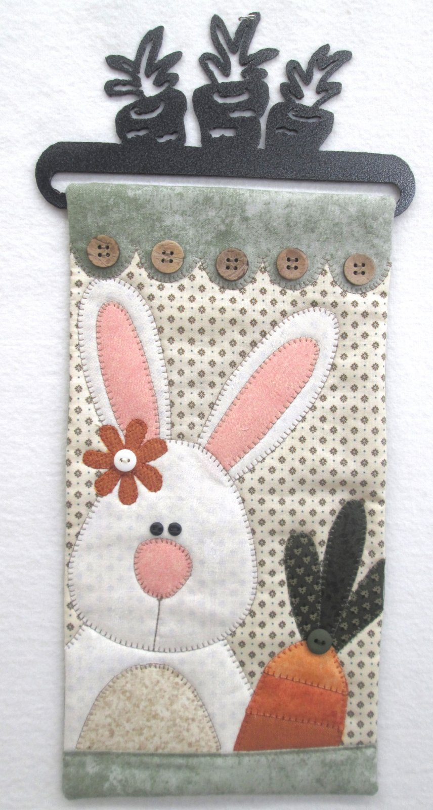 Little Quilts April Carrot Tops Wall Hanging Kit