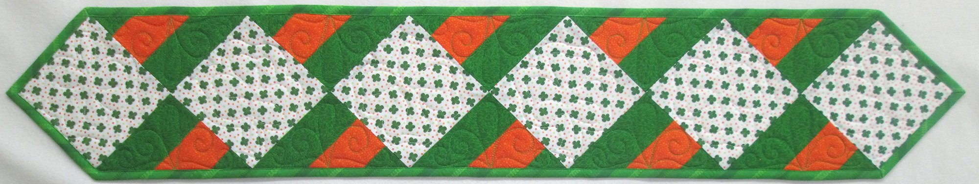 Shamrock Rail Splits Table Runner Kit