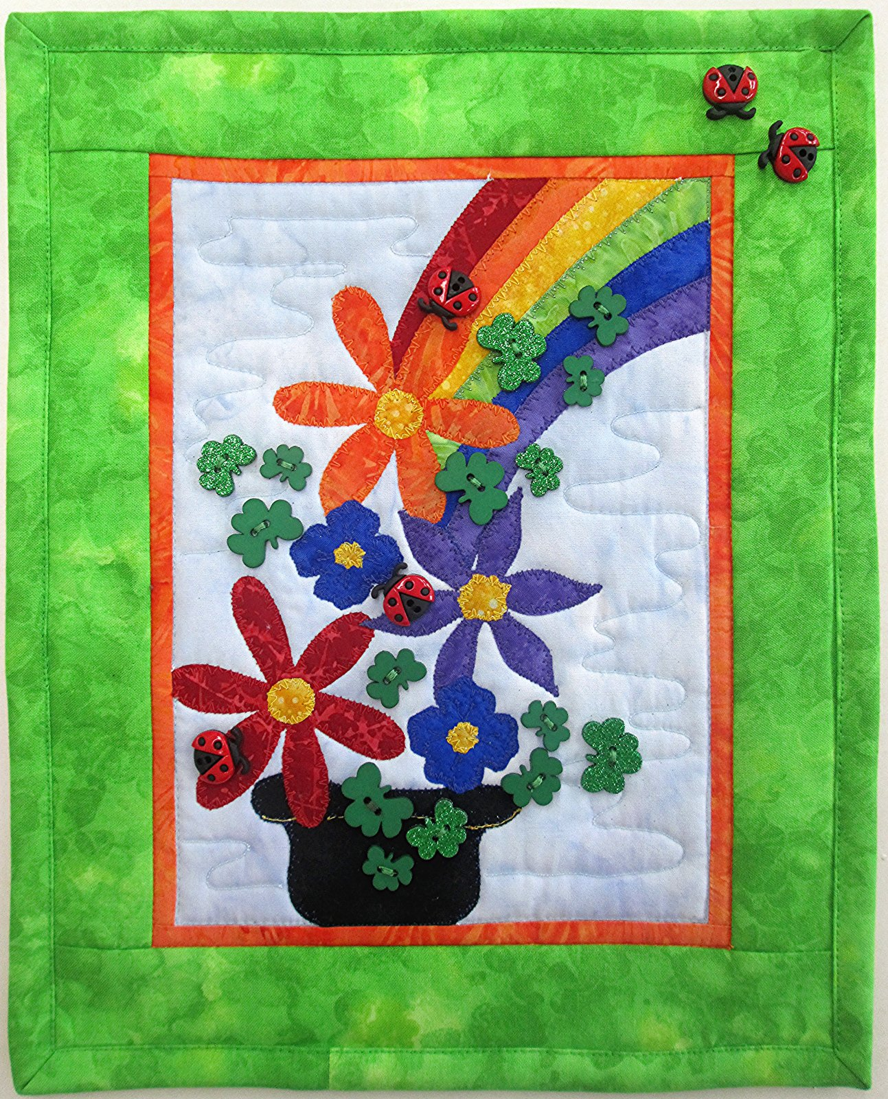 Pot of Blessings Wall Hanging Kit 9 1/2 x 11 5/8