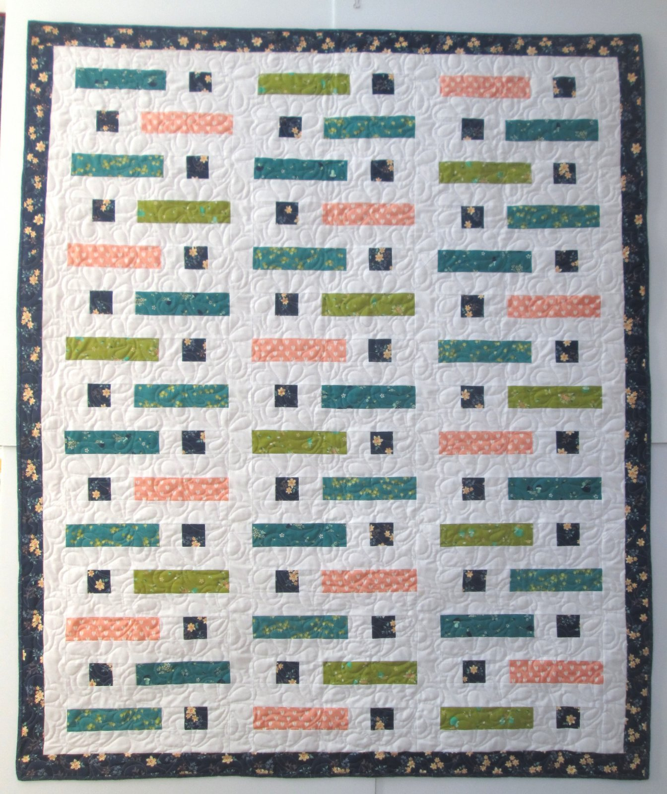 Woodland Secrets Sticks in a Stack Quilt Kit 54x58