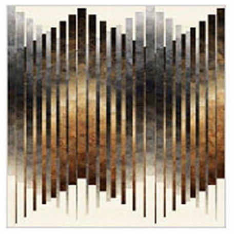 Stonehenge Gradations Ombre Neutral Good Vibrations Quilt Kit