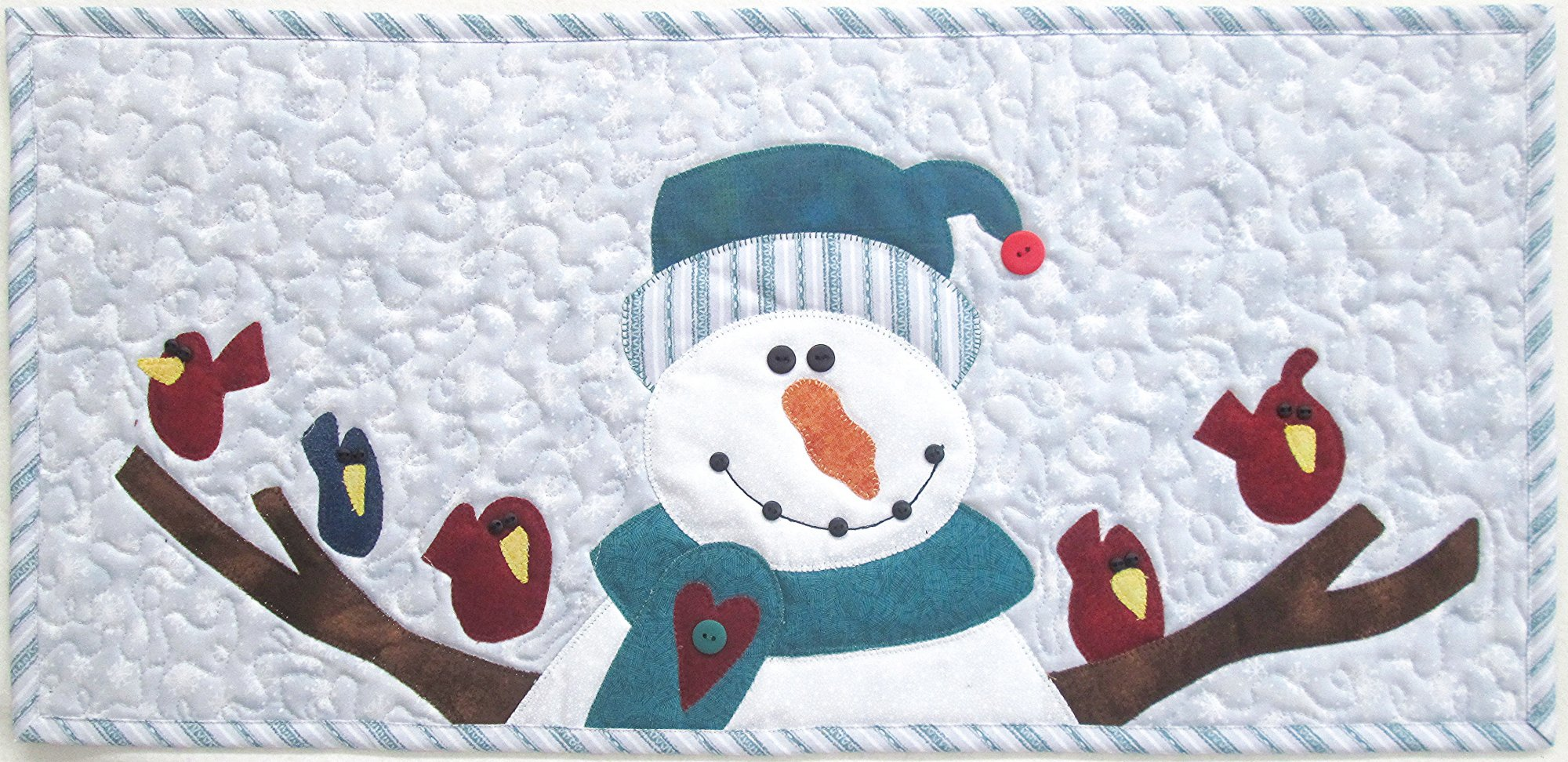 Loving Arms Snowman Table Runner Kit