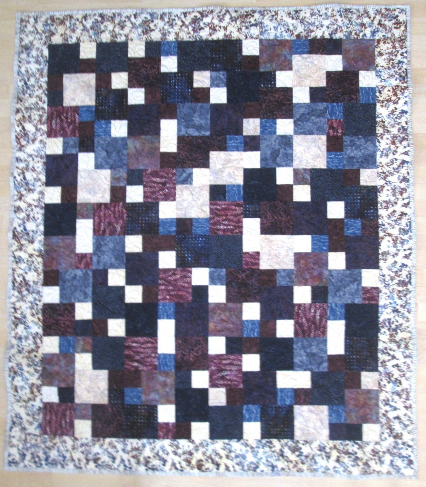 Baker's Dozen Batik Quilt Kit