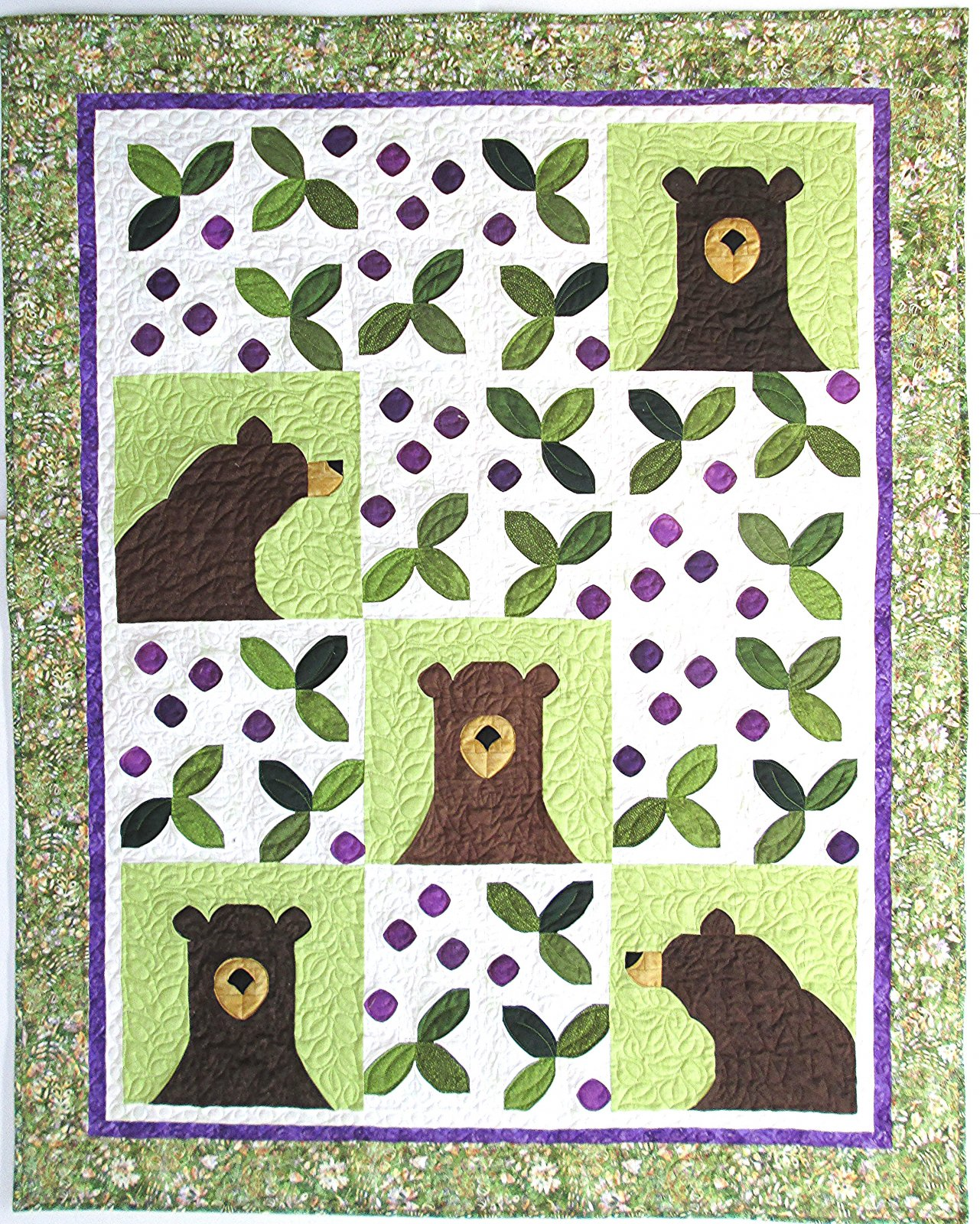 Bear-y Patches Quilt Kit
