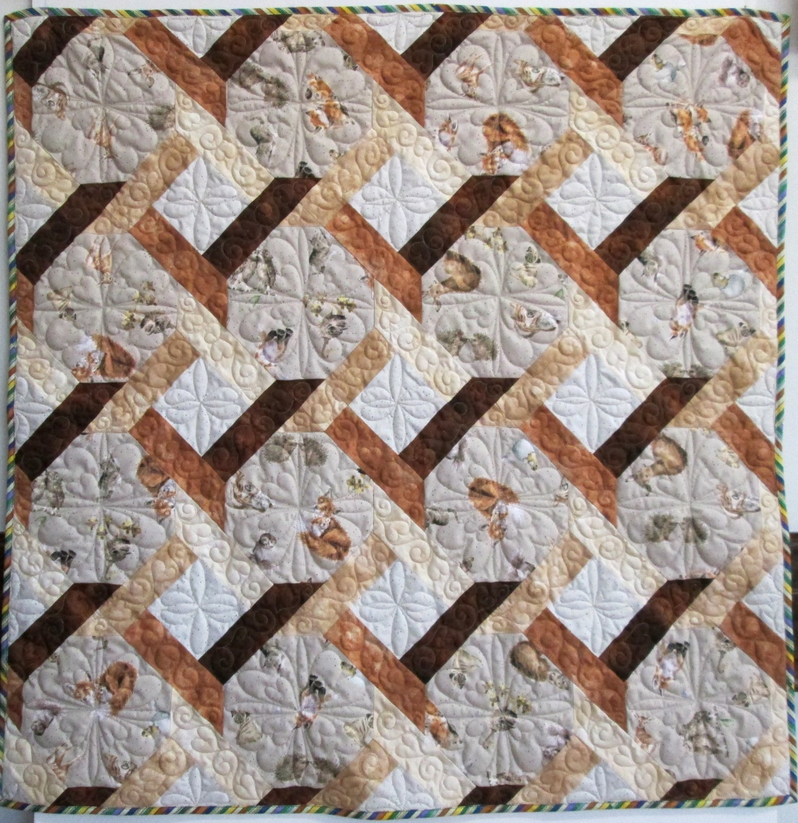 First Gift Love Is Quilt Kit 45 by 45 Sample