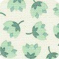 Robert Kaufman Arctic 17699-384 Desert Green Flowers by Elizabeth Hartman