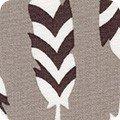 Robert Kaufman Arctic 17703-293 Smoke Feathers by Elizabeth Hartman