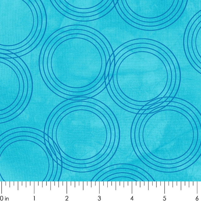 River Bend H2O 1974-1 Light Blue Circles