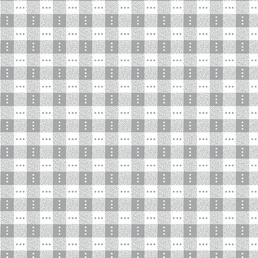 Benartex Bree 2136-08 Gray Check by Nancy Halvorsen
