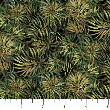 Northcott Naturescapes 21382-76 Packed Pine Needle Clusters