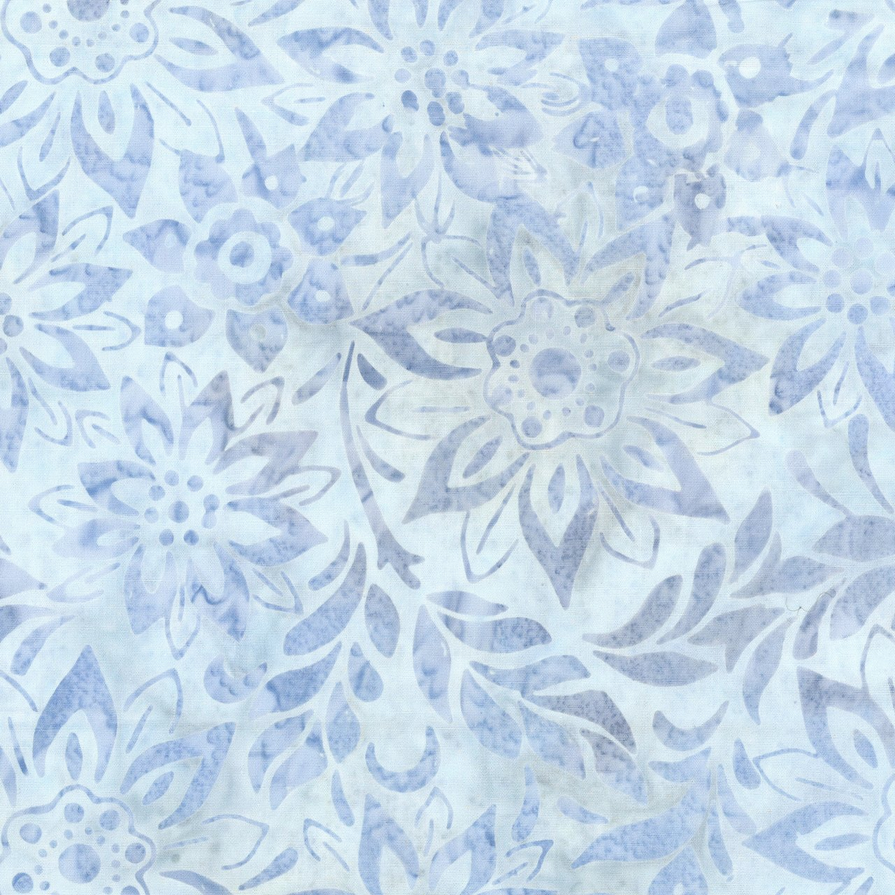 Anthology Batik Art Inspired 215Q-2 Purple Bouquet