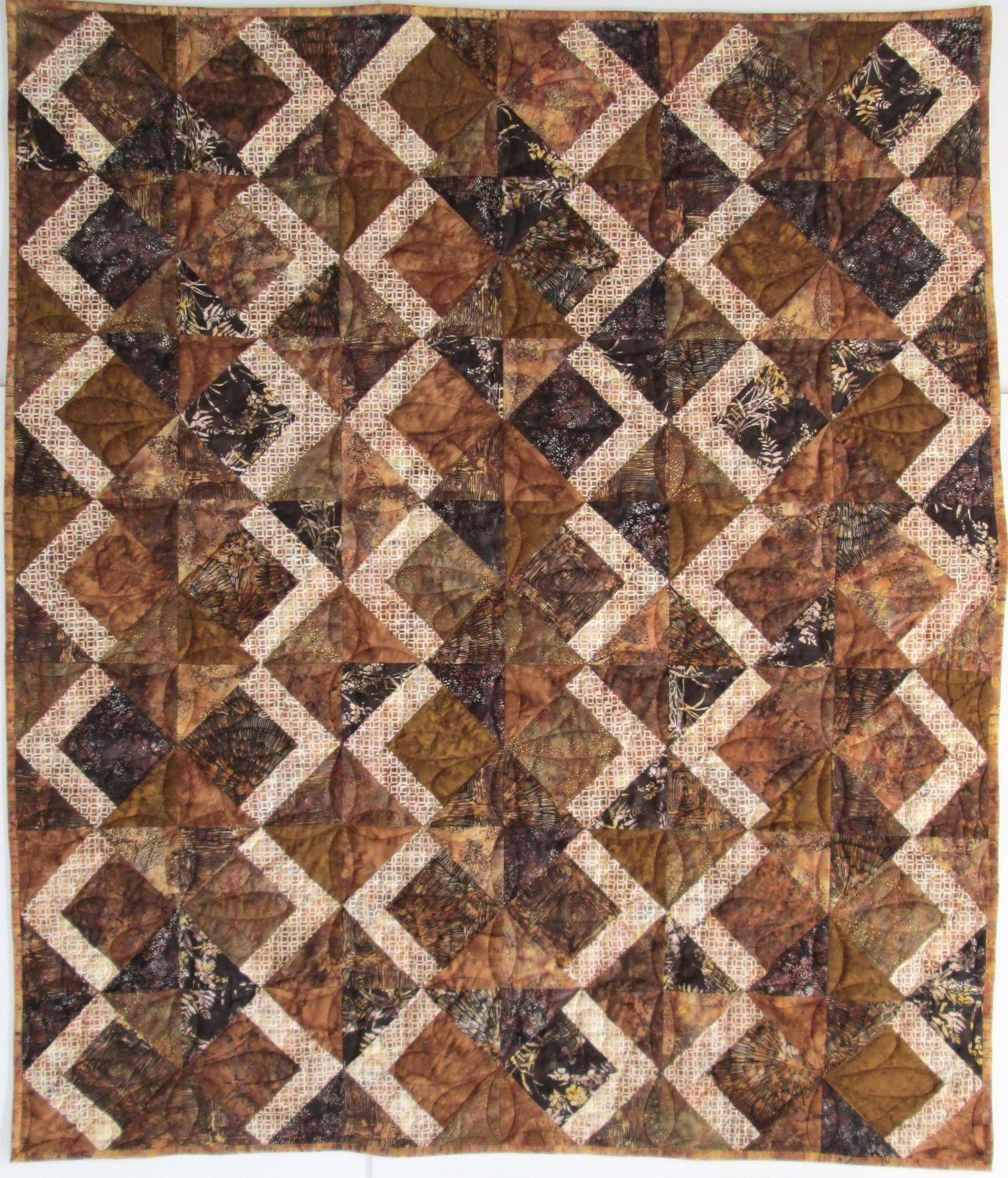 Hoffman Batik Tai Chi Quilt Kit