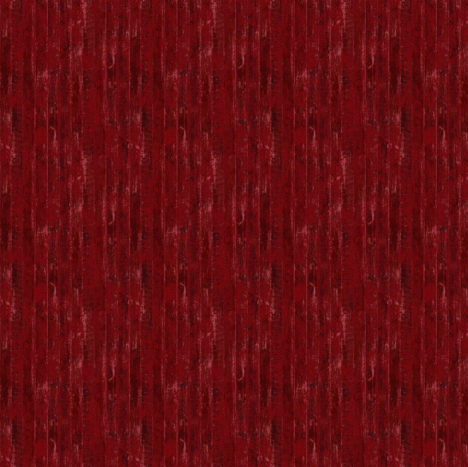 Northcott Christmas Wish 43469-24 Red Barn Wood