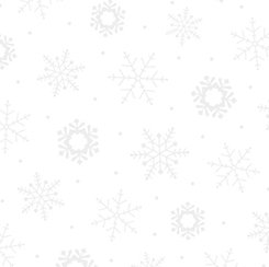 Quilting Treasures Quilting Illusions 24600-Z White with Snowflakes