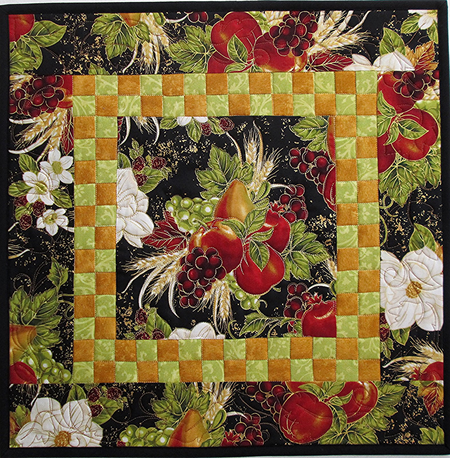 Bounty of the Season Check It Out Table Topper Kit