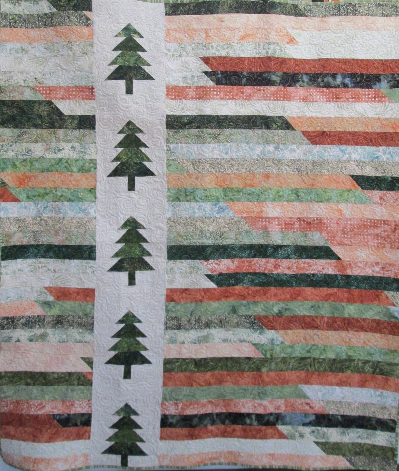 Into the Forest Quilt Kit 59x68