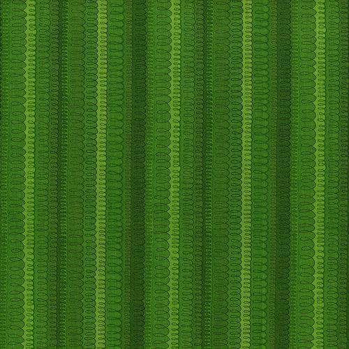 RJR Hopscotch 3218-2 Green Loopy Stripe Tonal By Jamie Fingal