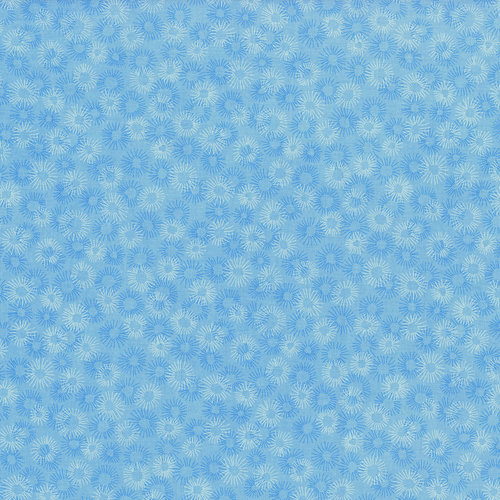 RJR Hopscotch 3219-001 Light Blue Tonal Circular Bursts By Jamie Fingal
