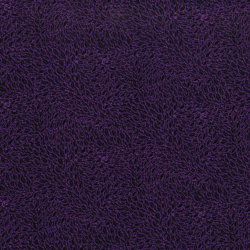 RJR Hopscotch 3221-004 Black with Purple Tonal Ovals  By Jamie Fingal