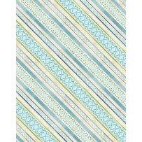 Wilmington Prints Humming Along 33835-247 Bias Stripe