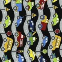 RJR Traffic Jam 3404-002 Cars, Trucks, Buses & Fire Engines on Roads