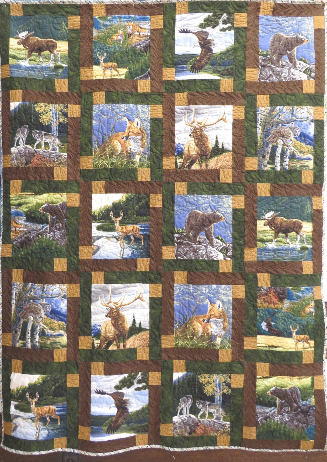 Block Talk Bringing Nature Home Quilt Kit