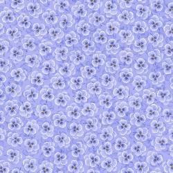 RJR Bloomfield Avenue 3570-2 Small Purple Pansies