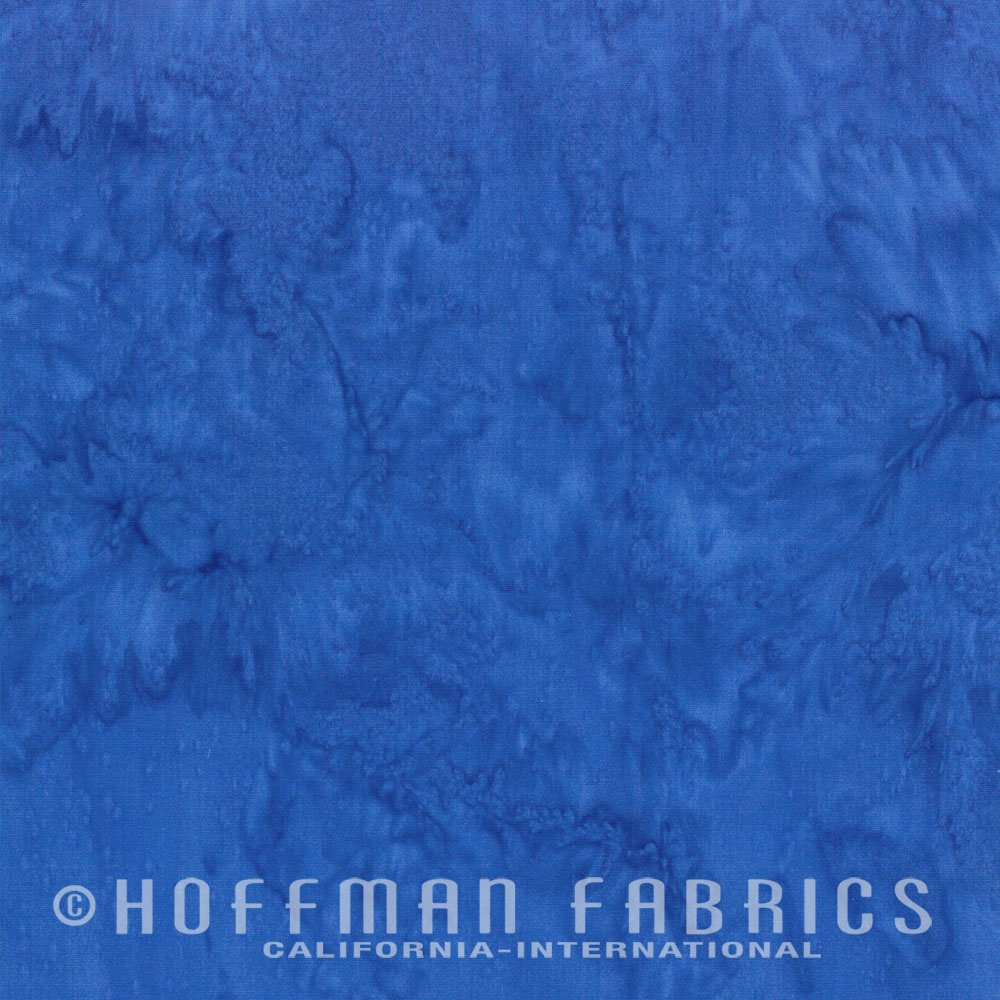 Hoffman Bali Watercolor 1895-360 Waikiki Blue