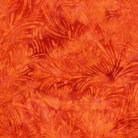 RJR Malam Batiks VI Lights & Brights 3628-006 Bright Orange Grass
