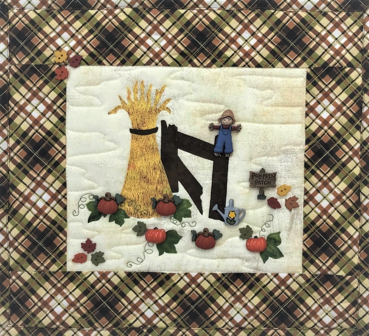 Pumpkin Time Wall Hanging Kit