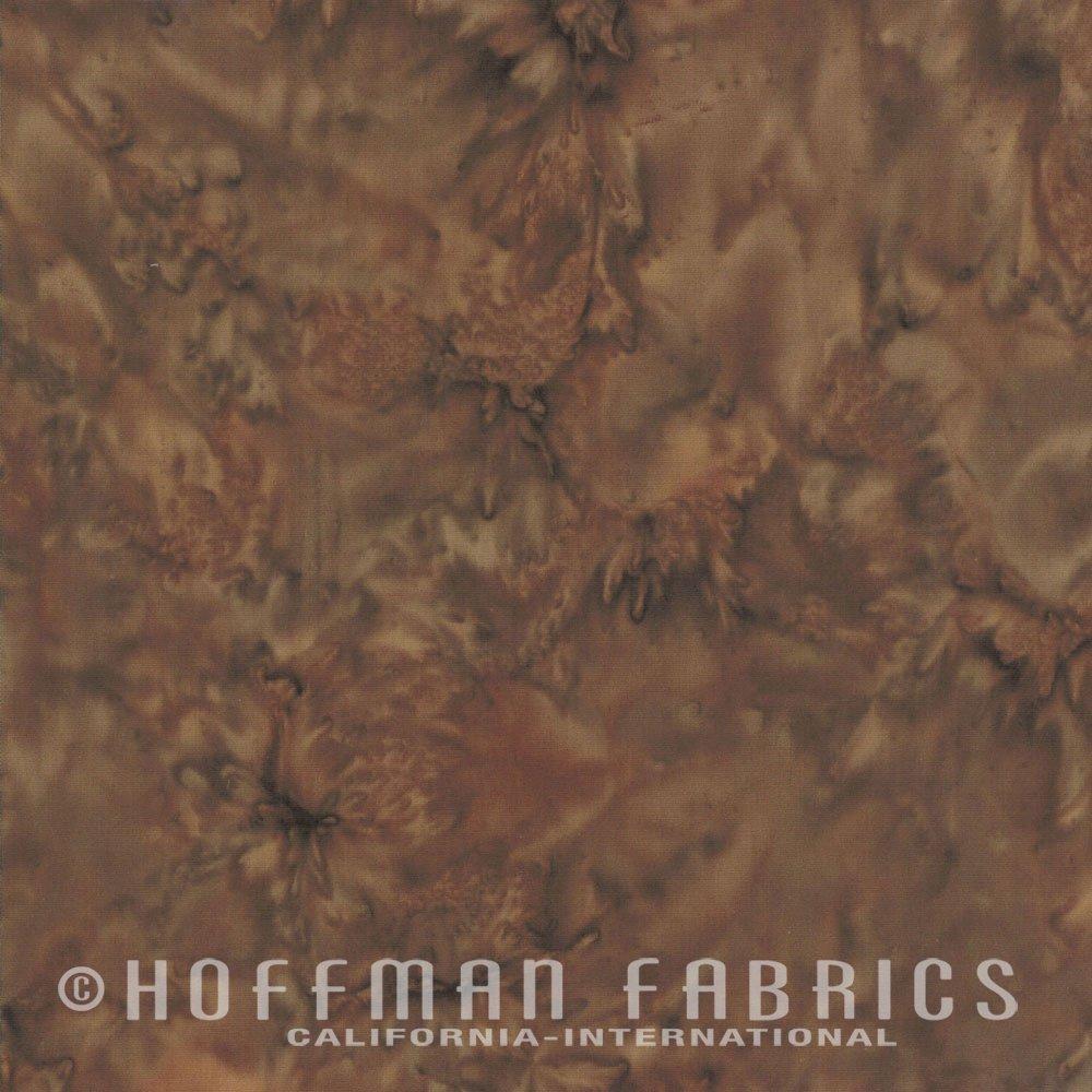 Hoffman Bali Watercolor 1895-386 Brownie