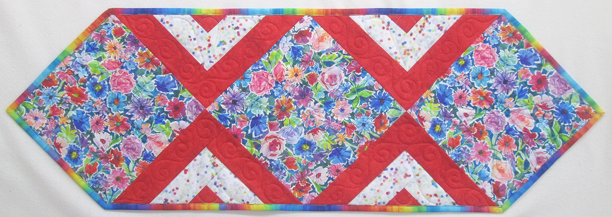 The Paper Garden In the Middle Table Runner Sample 15 x 43
