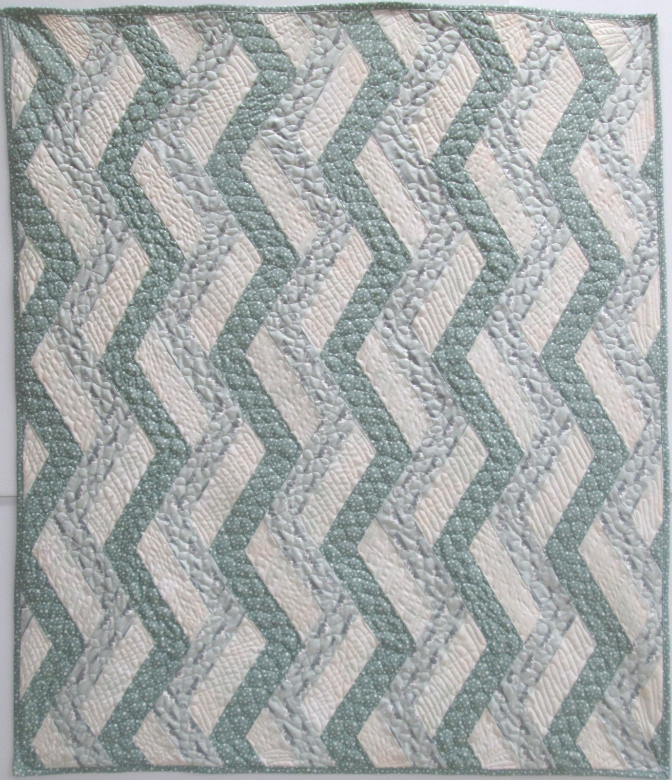 Arctic Ribbon Candy Quilt Kit