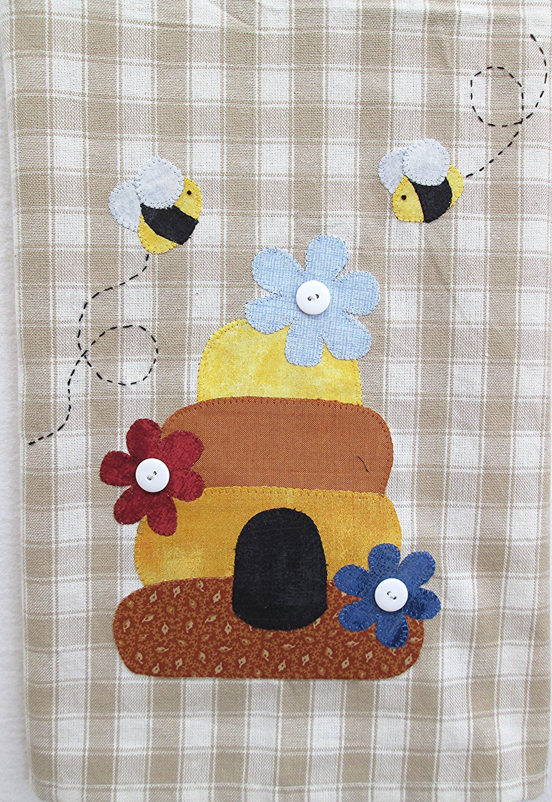 Beehive Tea Towel Kit
