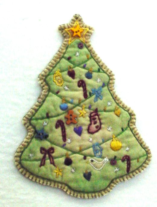 Chickadee Hollow Designs Vintage Ornament #5 Tree