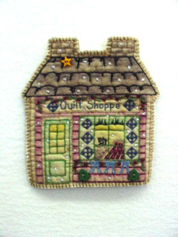 Chickadee Hollow Designs Vintage Ornament #18 Quilt Shoppe