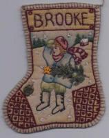 Chickadee Hollow Designs Jingle Sock #6 GIRL CHDJO6