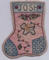 Chickadee Hollow Designs Jingle Sock #10 SCOTTIE DOG CHDJ10