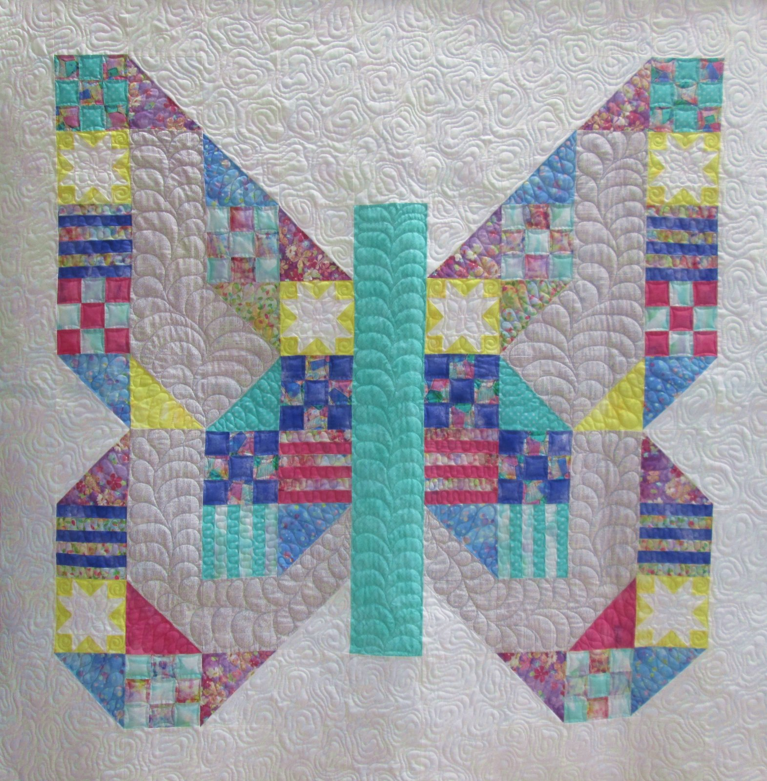 Butterfly Patch Quilt Sample