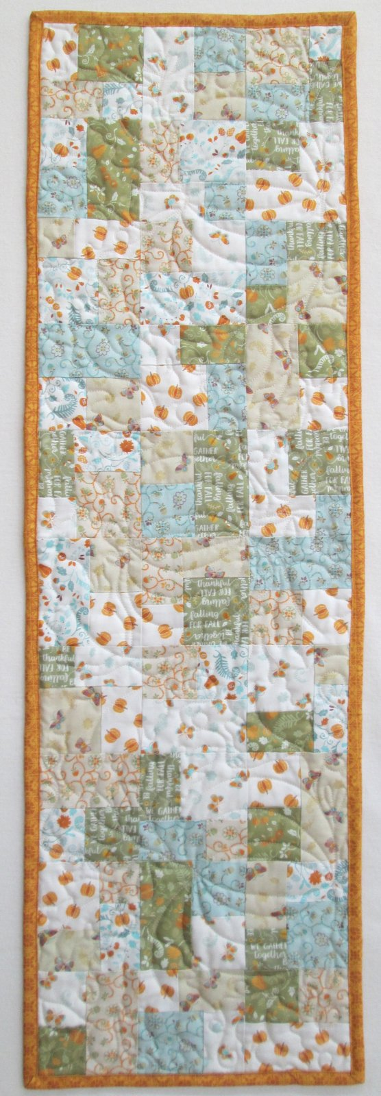 Autumn Impressions Mini Brick Road Table Runner KIT