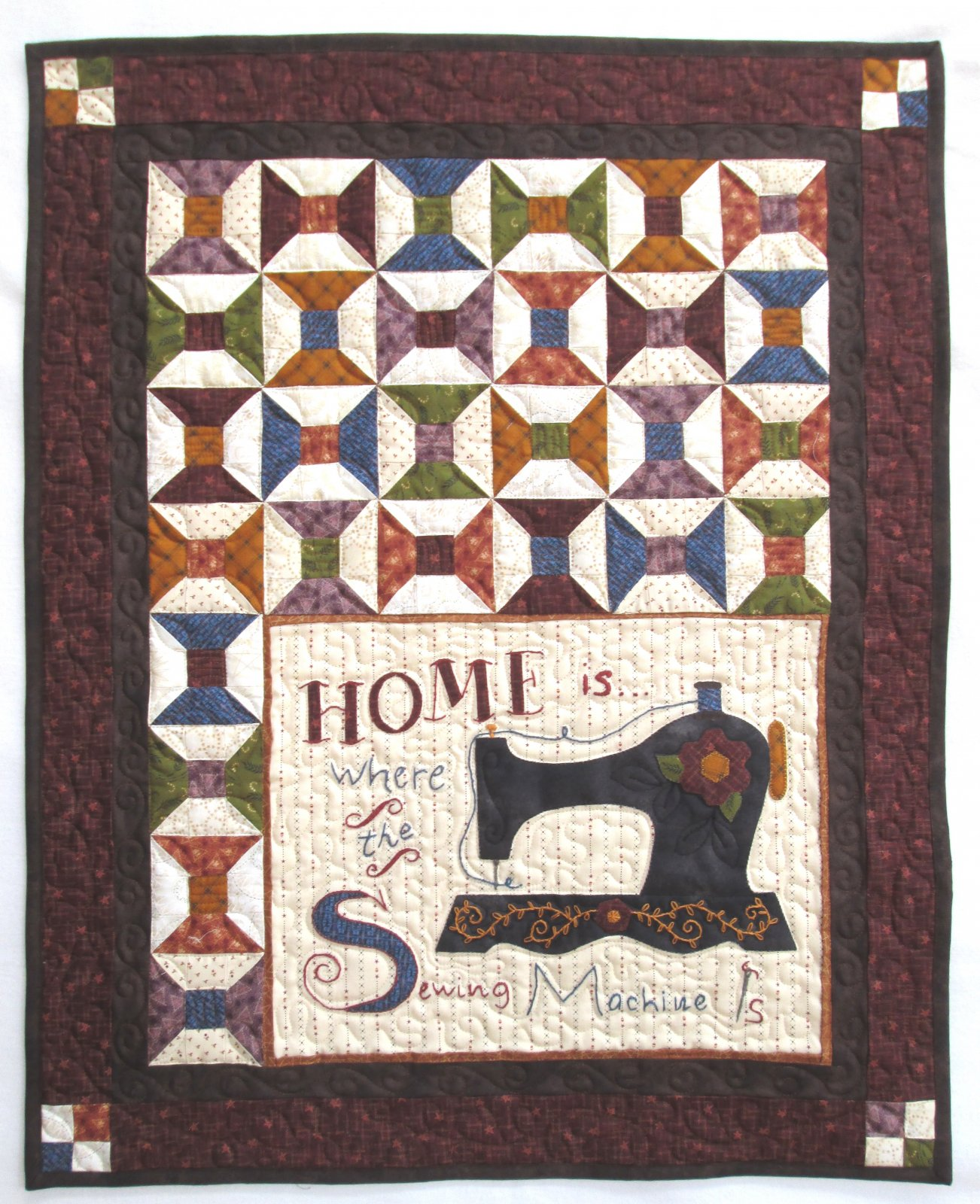 Best of Days Homespun Appeal Wall Hanging Kit