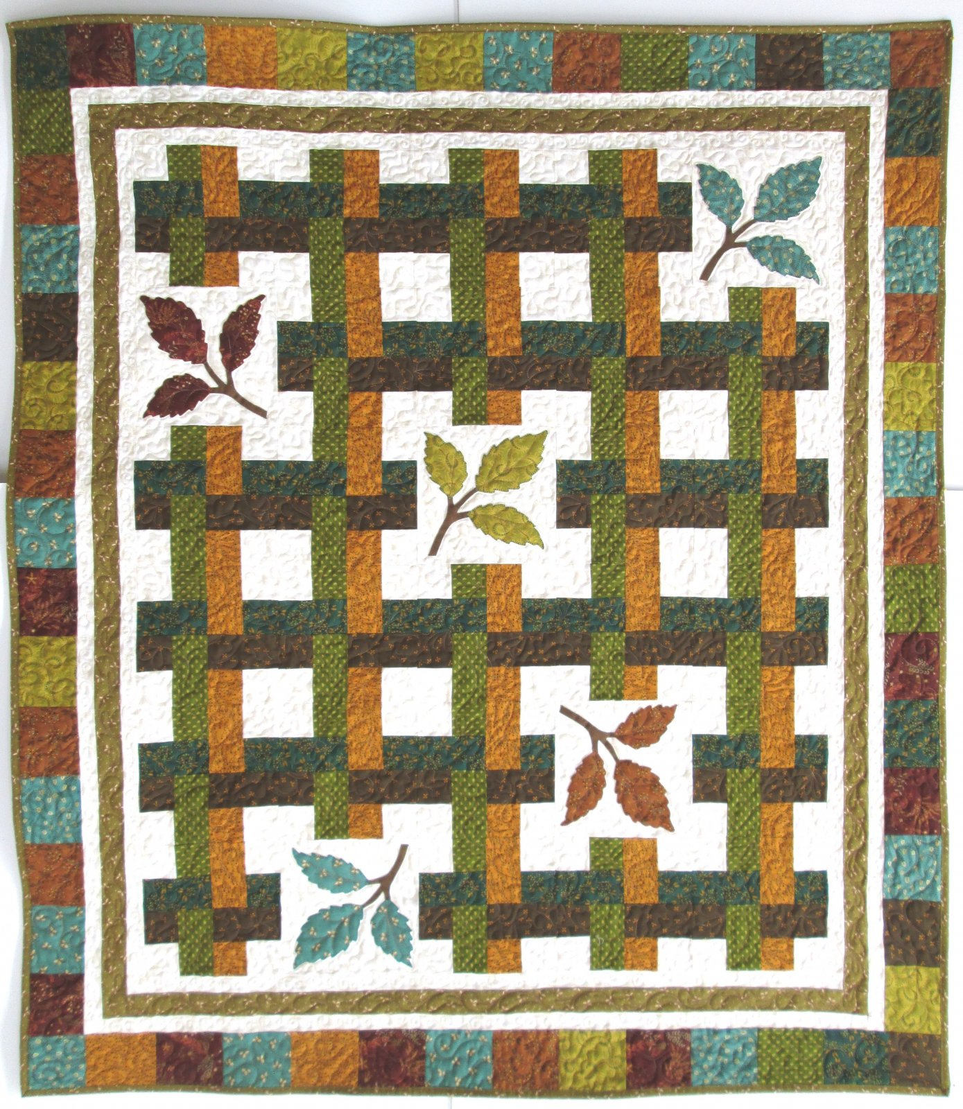 Reflections of Fall October Morning Quilt Kit