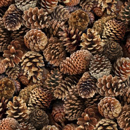 Elizabeth's Studio Landscape Medley 454Brown Pinecones