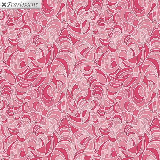Benartex Lilyanne 6724P-20 Ripple Pink Pearl
