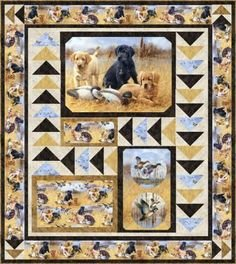 Faithful Friends Lap Quilt 65 x 73