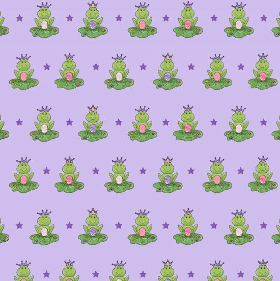 Henry Glass Ta-Da! 1025M-50 Purple with Frogs