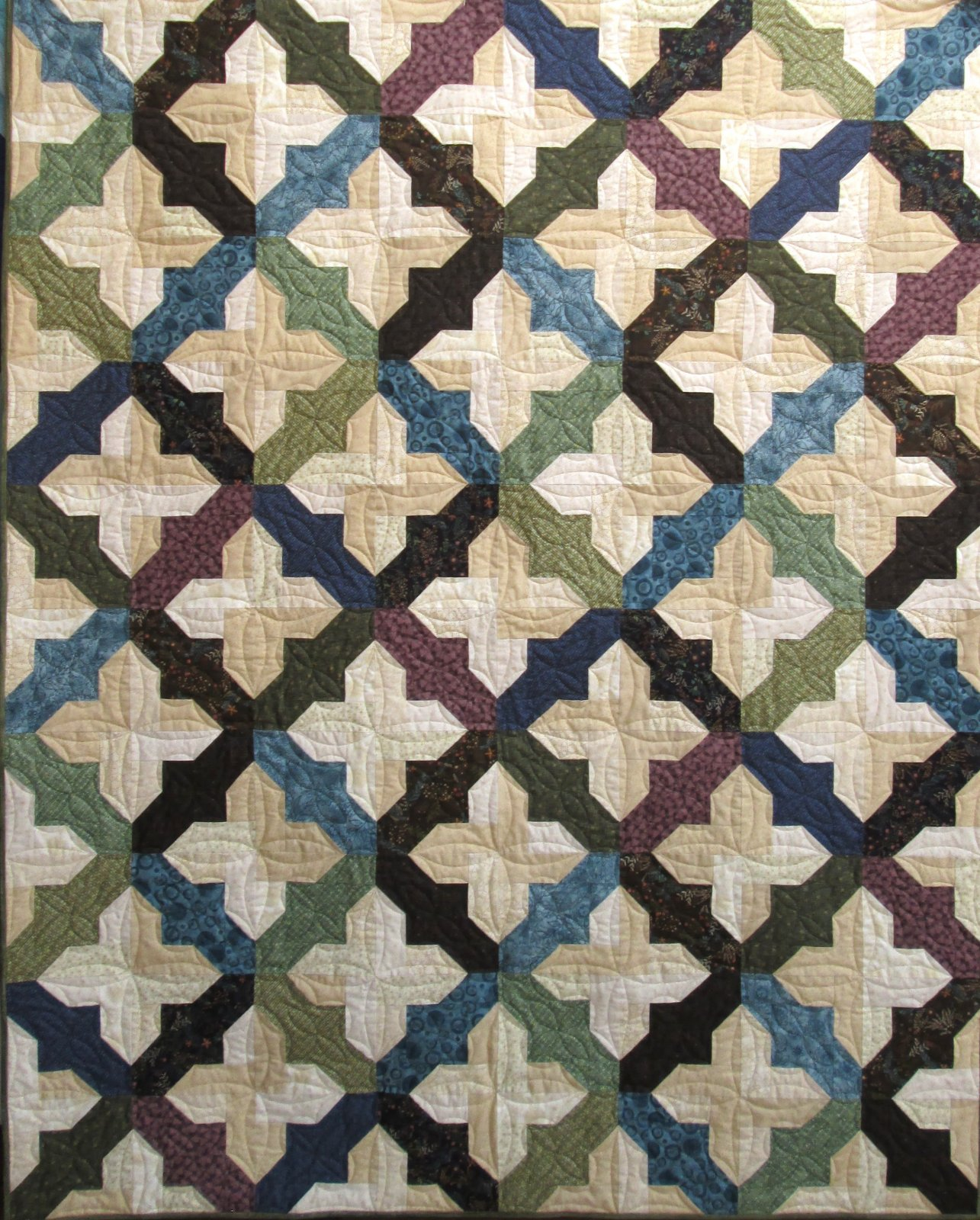 Rustic Tiling Best of Days Quilt Kit